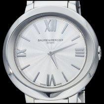 Baume & Mercier Promesse usados 30mm Plata Acero