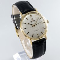 Omega Seamaster DeVille Yellow gold 34.5mm Silver No numerals