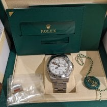 Rolex Explorer II Steel 42mm White No numerals United States of America, New York, Jericho