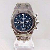 Audemars Piguet Royal Oak Chronograph Acier 39mm Bleu