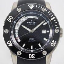 Edox Titanium 44mm Automatic 83005-TIN-NIN2 pre-owned