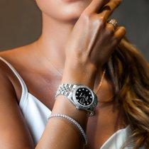Rolex Datejust Acier 36mm Noir