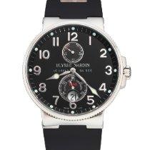 Ulysse Nardin Marine Chronometer 41mm gebraucht 41mm Schwarz Datum