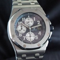 Audemars Piguet Royal Oak Offshore Chronograph Acier Bleu Arabes France, Paris