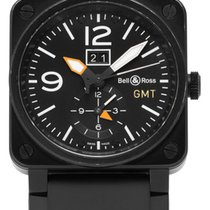 Bell & Ross BR 03-51 GMT Titanio 42mm