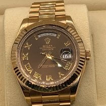 Rolex Day-Date II 218235 Very good Rose gold 41mm Automatic