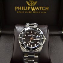 Philip Watch Caribe Steel Black