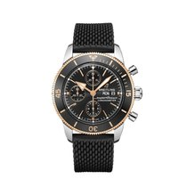 Breitling Superocean Chronograph II Steel 44mm Black No numerals United States of America, New York, New York