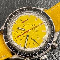 Omega Speedmaster Reduced Steel 39mm Yellow