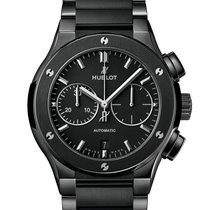 Hublot Classic Fusion Chronograph Ceramic 45mm Black No numerals United States of America, New York, Forest Hills