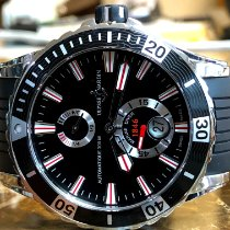 Ulysse Nardin Diver Chronometer Steel 44mm Black No numerals United States of America, Pennsylvania, Philadelphia