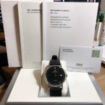 IWC Portofino Automatic pre-owned Black Leather