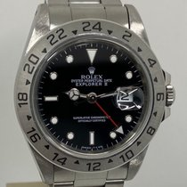 Rolex Explorer II Acero 40mm Negro Sin cifras