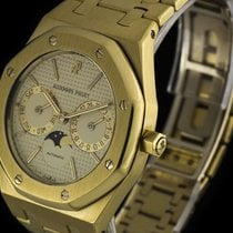 Audemars Piguet Oro amarillo Automático Blanco usados Royal Oak Day-Date