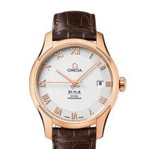 Omega De Ville Co-Axial nuevo Automático Reloj con estuche y documentos originales 431.53.41.21.02.001
