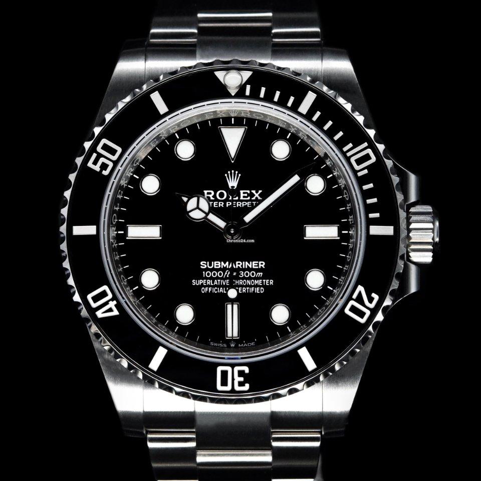 劳力士 Submariner (No Date) 124060 2021 全新