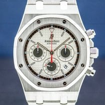 Audemars Piguet Royal Oak Chronograph Steel 40mm Silver United States of America, Massachusetts, Boston