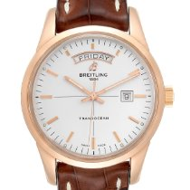 Breitling Transocean Day & Date Rose gold 46mm Silver United States of America, Georgia, Atlanta