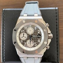 Audemars Piguet Royal Oak Offshore Chronograph Titan 42mm Šedá Arabské Česko, Prague