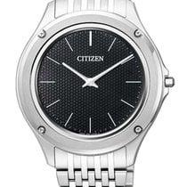 Citizen Eco-Drive One Acero 39mm Negro