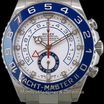 Rolex Yacht-Master II Acier 43mm Blanc France, Paris