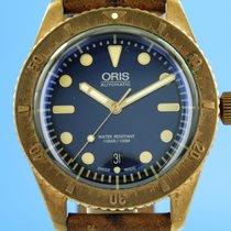 Oris Carl Brashear Bronze 42mm Blue
