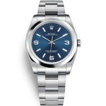 Rolex Oyster Perpetual 36 Steel 36mm Blue Arabic numerals