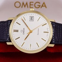 Omega Genève Yellow gold 34,5mm White No numerals
