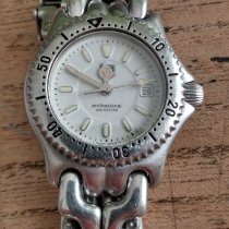 TAG Heuer Link Lady pre-owned White Date Steel