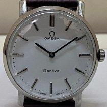 Omega Genève Steel 35mm White India, Mumbai