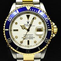 Rolex Submariner Date usados 40mm Azul Fecha Acero y oro