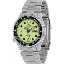 Citizen Steel 42mm Automatic NY0040-50W new