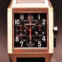 Jaeger-LeCoultre Reverso Squadra Chronograph GMT Oro rosa 35mm Negro España, Barcelona