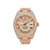 Rolex Sky-Dweller Oro rosa 42mm Amarillo Romanos