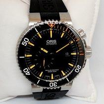Oris Titane Remontage automatique Noir Sans chiffres 46mm nouveau Carlos Coste Limited Edition