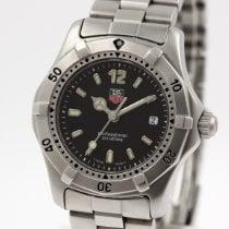 TAG Heuer Uhr gebraucht Stahl 30mm Keine Ziffern Quarz Nur Uhr