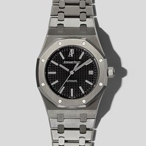 Audemars Piguet Royal Oak Selfwinding pre-owned 39mm Black Date Steel