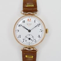Helvetia Yellow gold Manual winding pre-owned