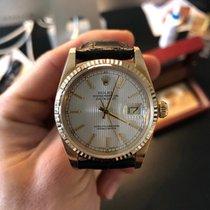 Rolex Datejust 16018 Veldig bra Gult gull 36mm Automatisk Norge, Sandnes
