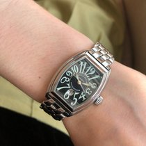 Franck Muller Steel 28mm Automatic CONQUISTADOR LADY pre-owned