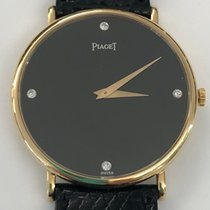 Piaget 9035 Gelbgold 1980 33mm gebraucht