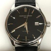 Frederique Constant Classics Index occasion 40mm Noir Date Cuir