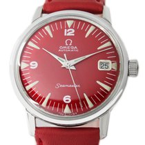 Omega Seamaster Steel 34mm Red No numerals United States of America, Utah, Draper