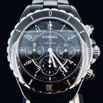 Chanel J12 Céramique 41mm Noir Arabes