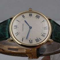 Cartier Ronde Louis Cartier Rose gold 33,5mm Silver Roman numerals