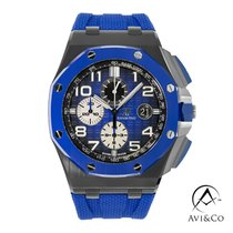Audemars Piguet Royal Oak Offshore Chronograph Ceramic 44mm Blue Arabic numerals