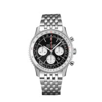Breitling Navitimer 1 B01 Chronograph 43 Steel 43mm Black No numerals United States of America, New York, New York