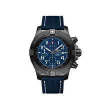 Breitling Super Avenger Titanium 48mm Blue Arabic numerals United States of America, New York, New York