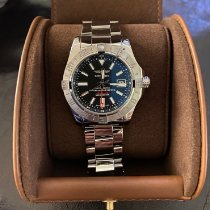 Breitling Avenger II GMT Steel 43mm Black No numerals United States of America, Alabama, brewton