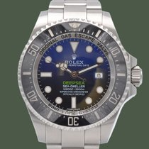 Rolex Sea-Dweller Deepsea подержанные 44mm Синий Дата Сталь